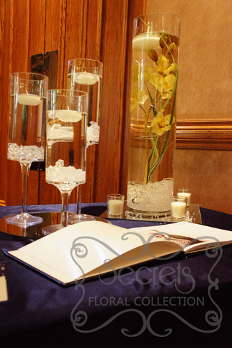 orchid arrangements for wedding receptions