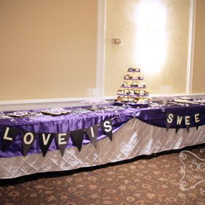 Love is sweet - Toronto Wedding Decor Created by Secrets Floral Collection